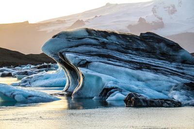 Die sich ausbreitenden Gletscher in Island