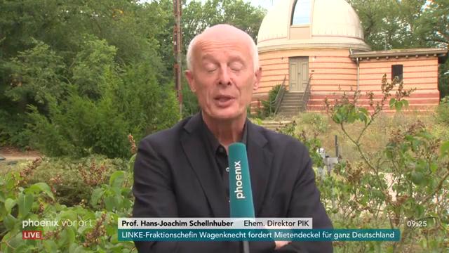 Schellnhuber ist bereit als Minister für Brandenburg!