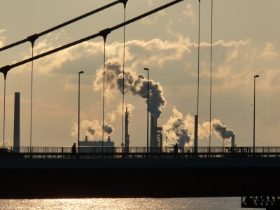 Alles steht still, nur atmosphärisches CO2 steigt