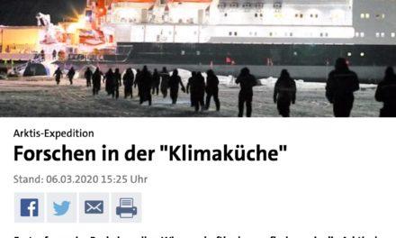 """""""Forschen in der Klimaküche"""" – Die ARD in intellektueller Eiszeit arktischen Ausmaßes"""