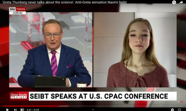 Naomi Seibt etabliert sich auf der internationalen Bühne: Interview SKYNews Australien