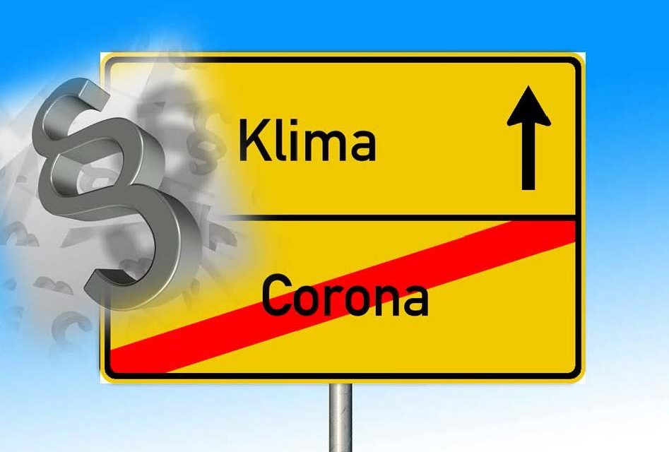 Erst Corona, dann Klima?