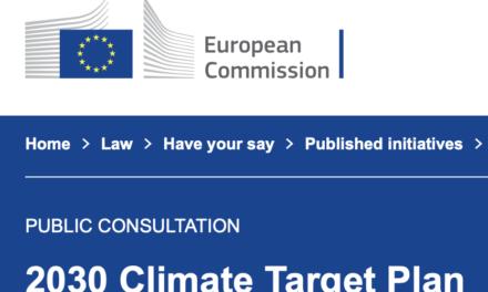 Ihre Meinung zum KIimagesetz ist gefragt – Antworten Sie der EU Kommission!
