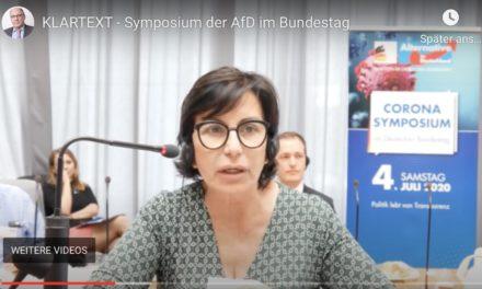 """Corona-Ketzerei im Bundestag: """"Die Deutschen würden auch kriechen"""