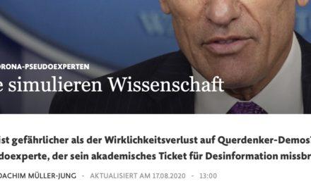 """Joachim Müller-Jung und die """"Verpöbelung des Diskurses"""""""