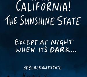 """Aus dem jüngsten Rundbrief der GWPF: Stromausfälle in Kalifornien wegen """"grüner"""" Energiepolitik"""
