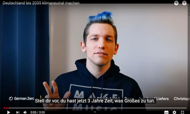 """Prominente für 'Germanzero': """"Erst Greta hat uns die Augen geöffnet"""""""