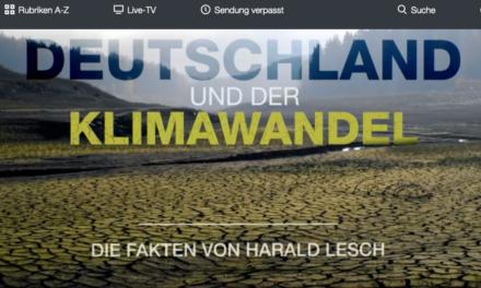 """Fernseh-Tipp: """"Deutschland und der Klimawandel – Die Fakten von Harald Lesch"""", ZDF am 1. September"""