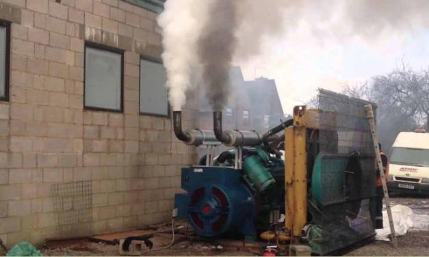 Kalifornien kämpft mit Dieselgeneratoren gegen den Blackout
