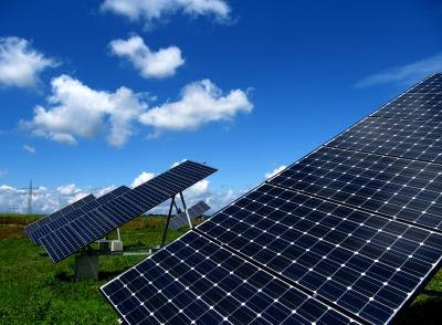 Solarpaneele erzeugen Berge von Abfall