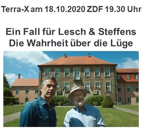 """Offener Brief an Professor Harald Lesch, bezüglich seines """"CO<sub>2</sub>-Experiments"""" am Ende der Terra-X Sendung vom 18. Oktober 2020 im ZDF"""