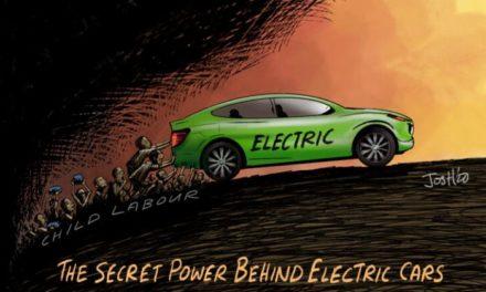 Gemein und verbrecherisch: Elektrofahrzeuge werden durch Kinderarbeit in Afrika angetrieben!