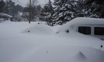 Klimaerwärmung: New York-Stadt und Japan unter Schneemassen begraben