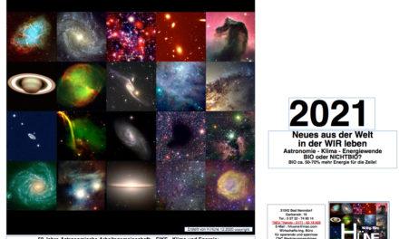 Toller Kalender für 2021 – Es ist noch nicht zu spät!