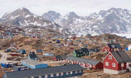 Grönländische Eisdecke schmilzt aufgrund geothermischer Aktivitäten von unten her