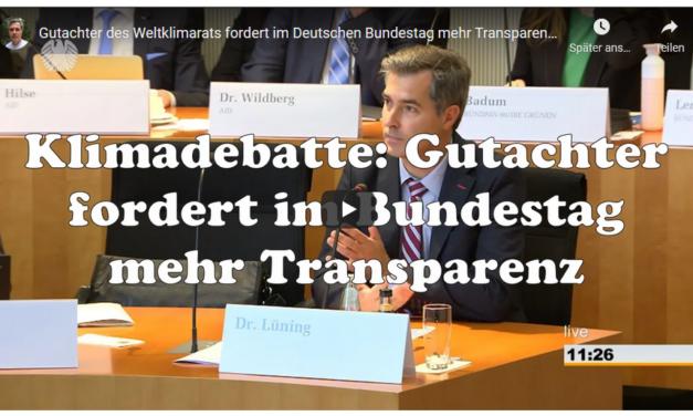 Sebastian Lüning im Bundestags-Ausschuß: Debatte zur CO<sub>2</sub>-Bepreisung