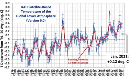 Die Temperaturen im Januar 2021 und die Erhöhung der CO<sub>2</sub>-Emissionen durch Holzverbrennung