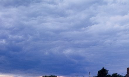 Wolken von allen Seiten