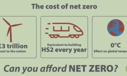 Man mache sich keine Illusionen bzgl. der Kosten von <i>Net Zero</i>