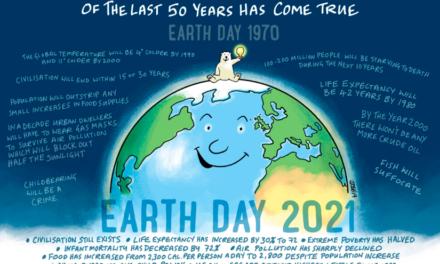 Unsere Erde wiederherstellen? Zu was wiederherstellen?