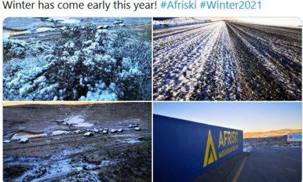 Früher Wintereinbruch auf der Südhemisphäre