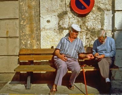 Die Alten und der Umweltschutz!