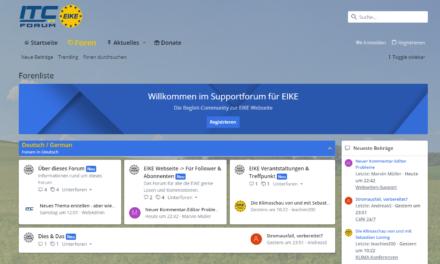 EIKE goes Forum !