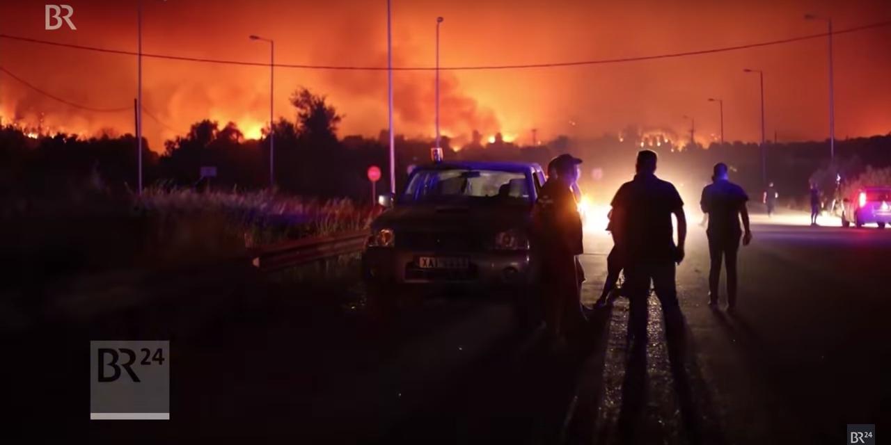 Pikant: Werden Waldbrände in Griechenland gelegt, um Platz für profitable Windparks zu schaffen?