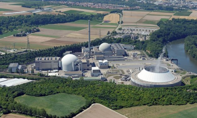 Demonstranten fordern sauberen Strom durch Kernenergie