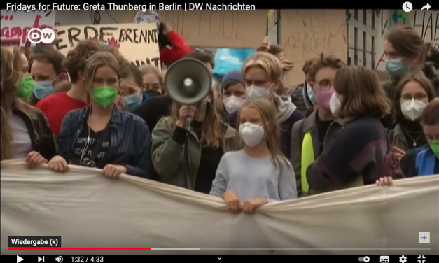 """""""Deutschland ist ein Klima-Schurke"""": Greta Thunberg vorm Reichstag – Wahlkampfschau für die Grünen"""