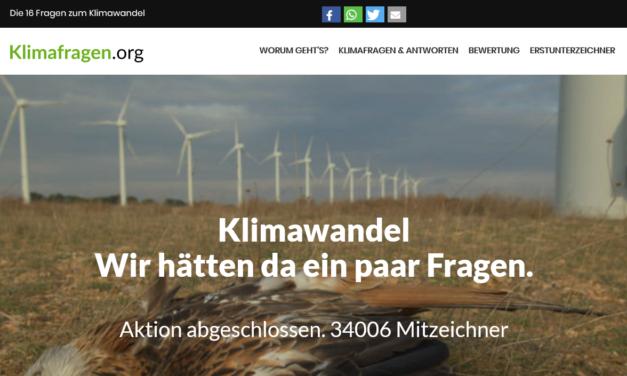 Klimafragen: Was wissen die Politiker im deutschen Bundestag überhaupt über die Argumente der Alarmisten?