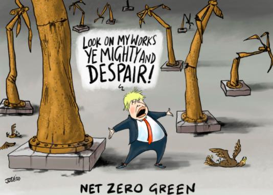Windstärke Null: UK durch Kohle gerettet – zu gewaltigen Kosten