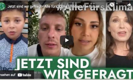 """Fridays for future"": Globaler Klimastreik am 24. September – #allefürsklima"