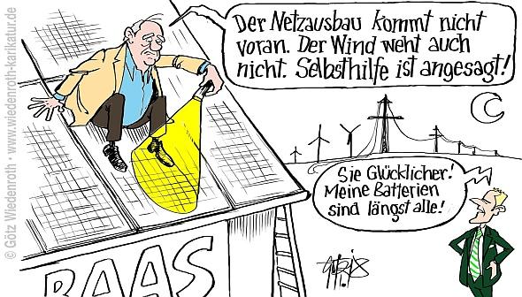 Sie wollen Blackouts? Dann nutzen Sie großzügig Wind & Solar und vergessen Sie nicht die Subventionen