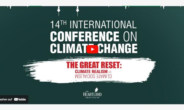 14. Internationale Konferenz zum Klimawandel von Heartland in Las Vegas